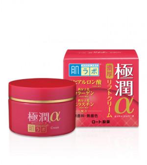 Противіковий гіалуроновий ліфтинг крем HADA LABO Gokujyun Lifting Alpha Cream 50g